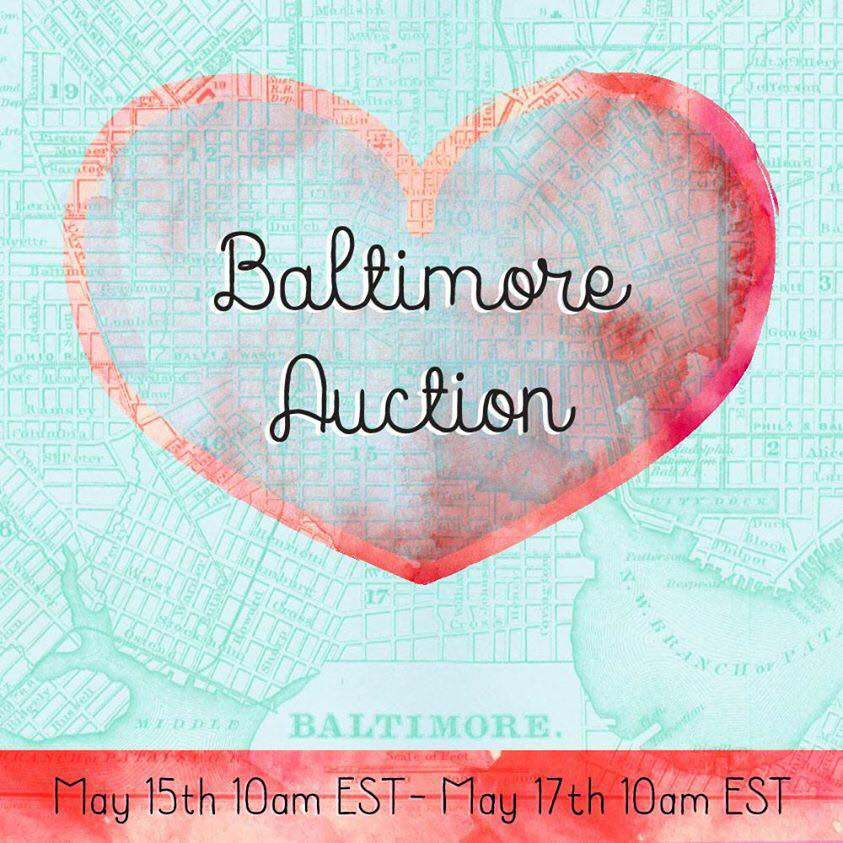 Wire and Honey hosts the @baltimorelove auction!