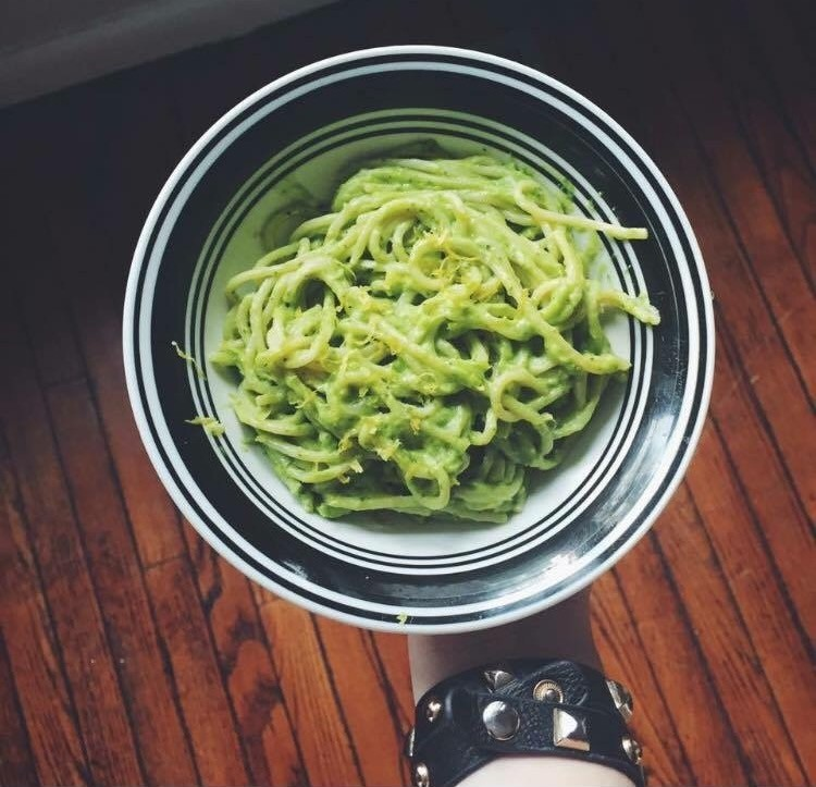 Recipe of the Week: Vegan Avocado Pasta