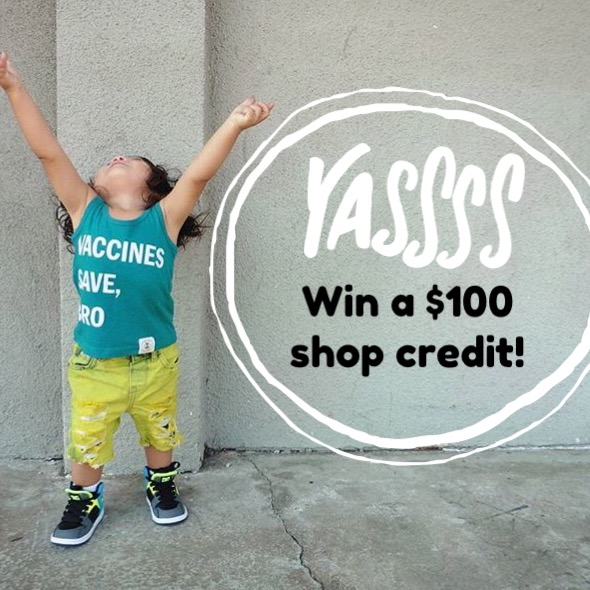 Enter to WIN a $100 shop credit!