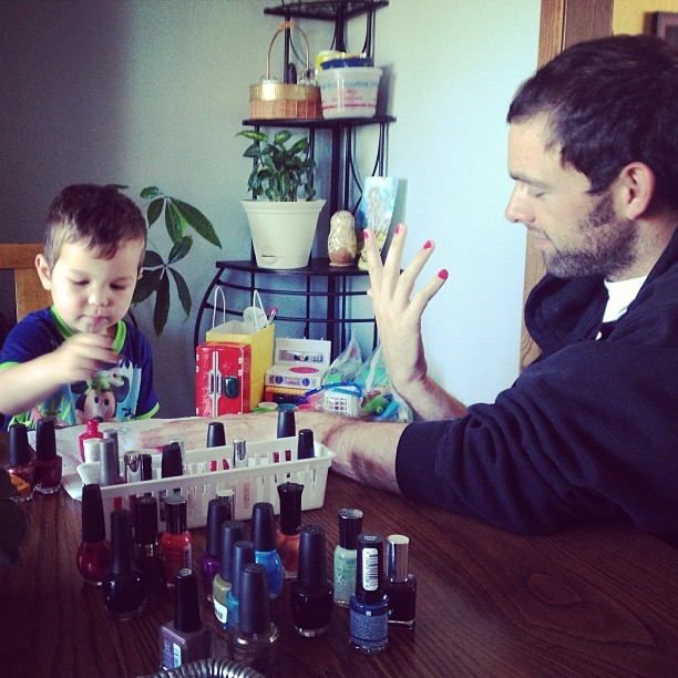 Why I Will Continue to Paint My Son's Nails