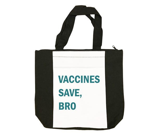 VSB Tote Bag (Black/White/Teal)