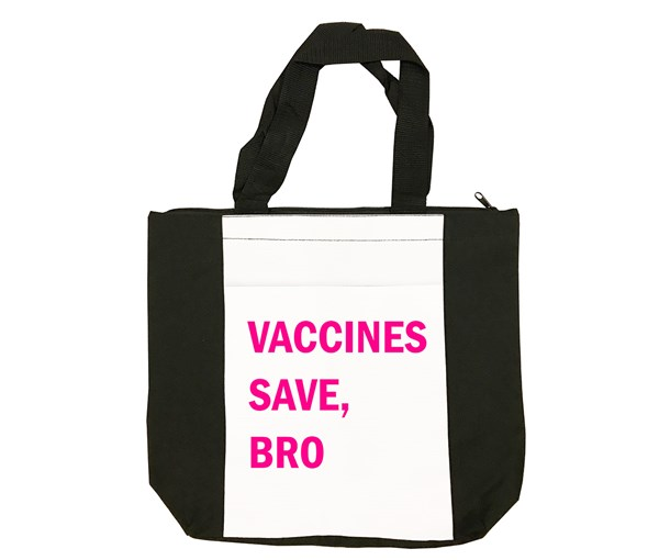VSB Tote Bag (Black/White/Pink)