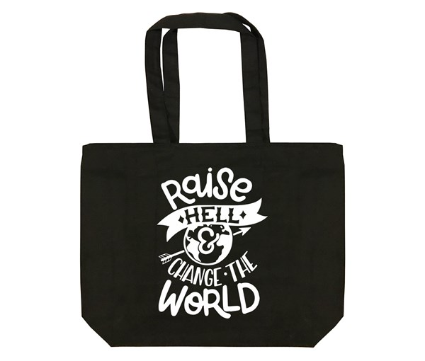 Raise Hell Tote Bag (Black)