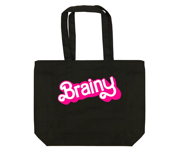 Brainy Tote Bag (Black)