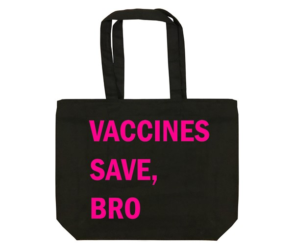 VSB Tote Bag (Black/Pink)
