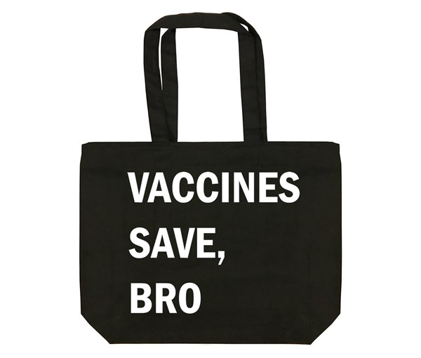 VSB Tote Bag (Black/White)