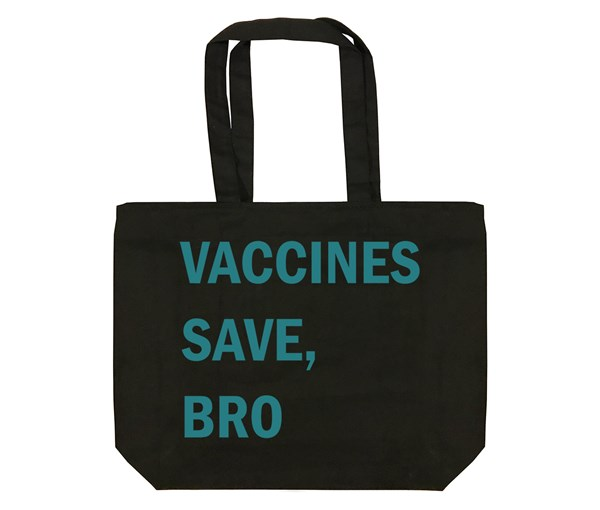 VSB Tote Bag (Black/Teal)