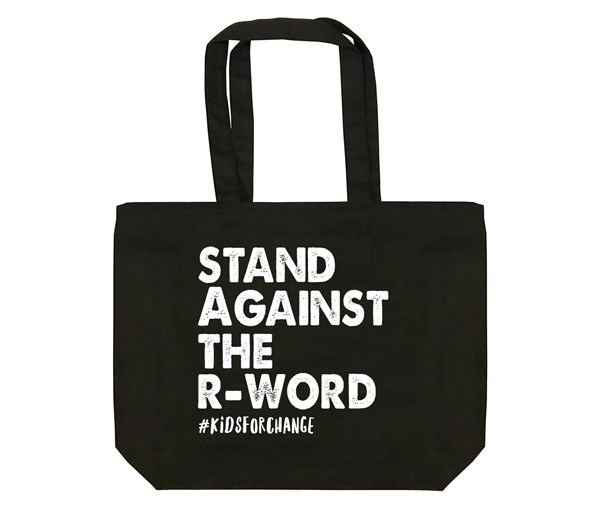 Stand Against The R-Word Tote Bag