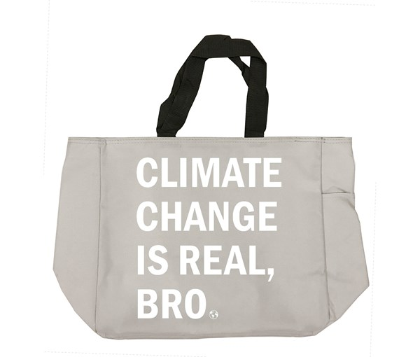 Climate Change Tote Bag (Grey)
