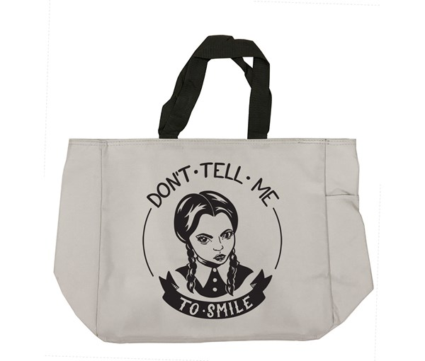 Don't Tell Me Tote Bag (Grey)