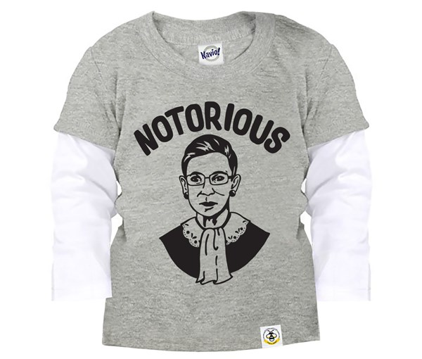 Notorious Layered Tee (Grey)
