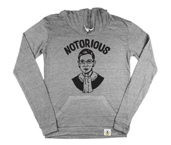 Notorious Women's Hoodie (Grey)