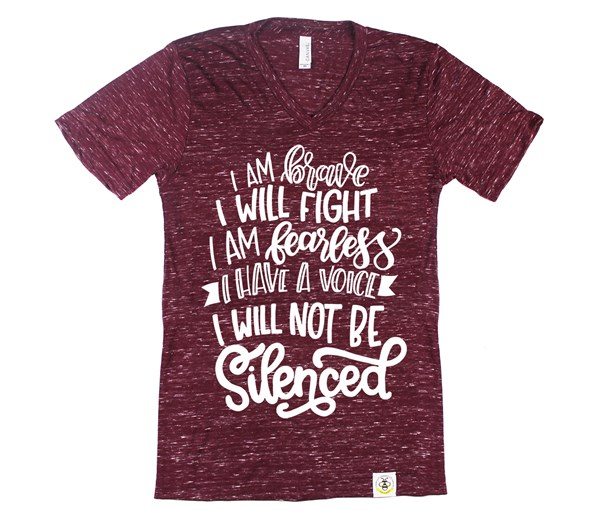 Not Silenced Adult Unisex (Cranberry)