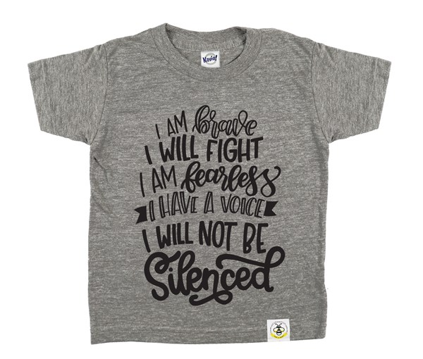 Not Silenced (Grey)