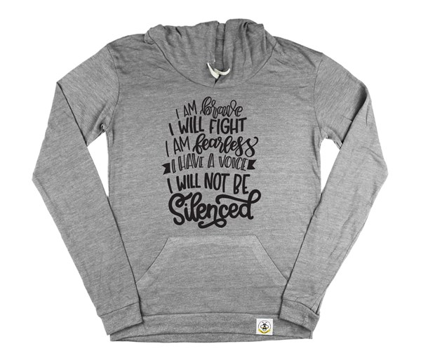 Not Silenced Women's Hoodie (Grey)