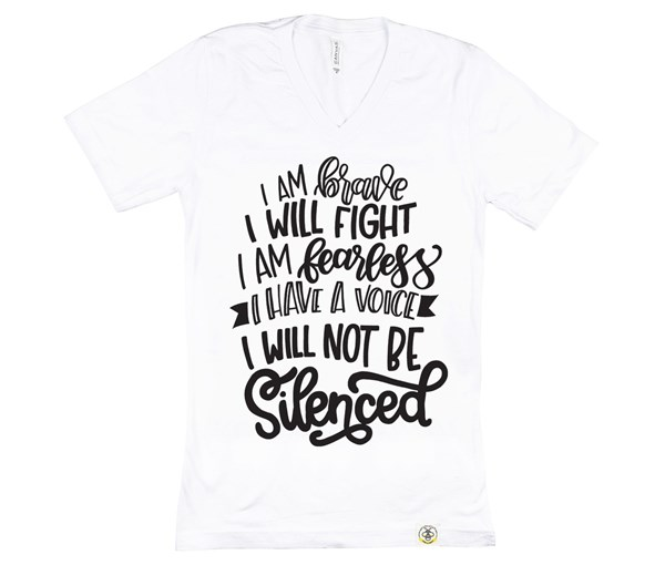 Not Silenced Unisex (White)