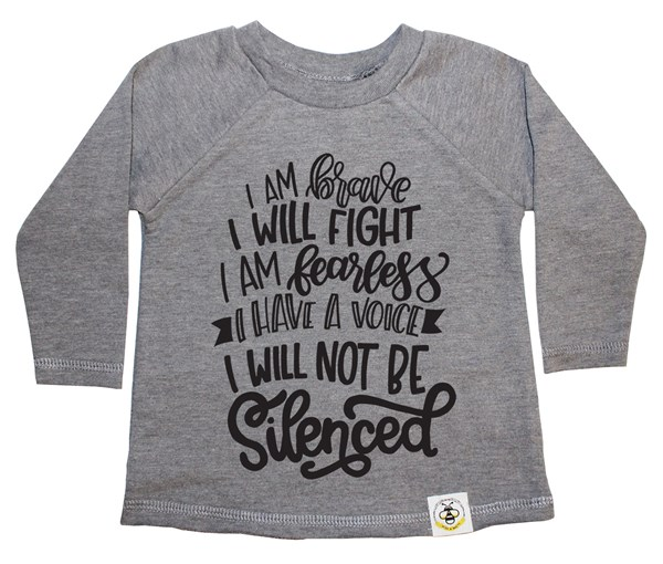 Not Silenced French Terry Long Sleeve (Grey)