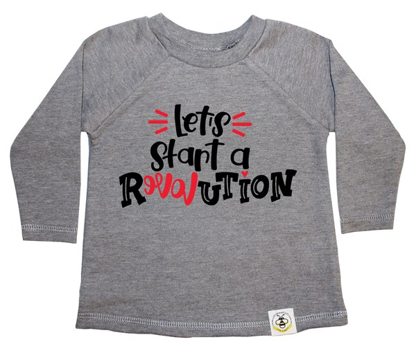 Revolution French Terry Long Sleeve (Grey)