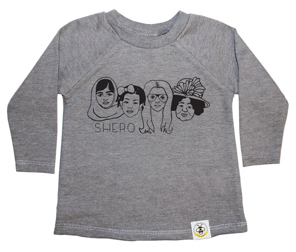 Shero French Terry Long Sleeve (Grey)