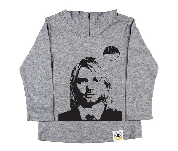 Kurt Hooded Tee (Grey)