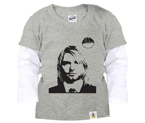 Kurt Layered Tee (Grey)