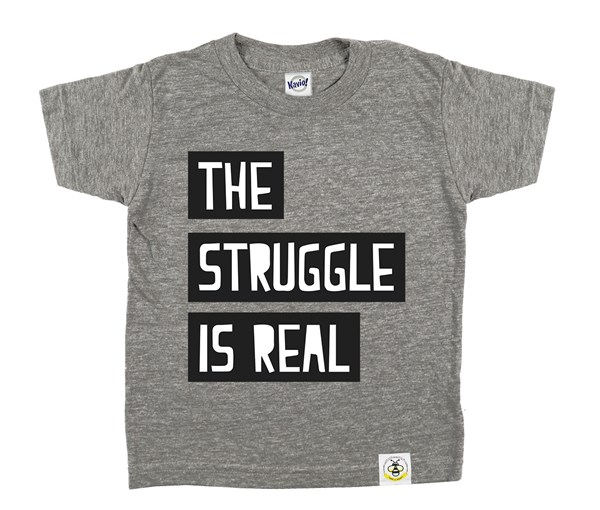 The Struggle (Grey)