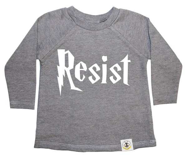 Resist French Terry Long Sleeve (Grey)