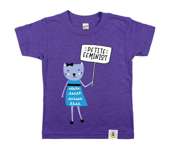 Petite Feminist (Heather Purple)