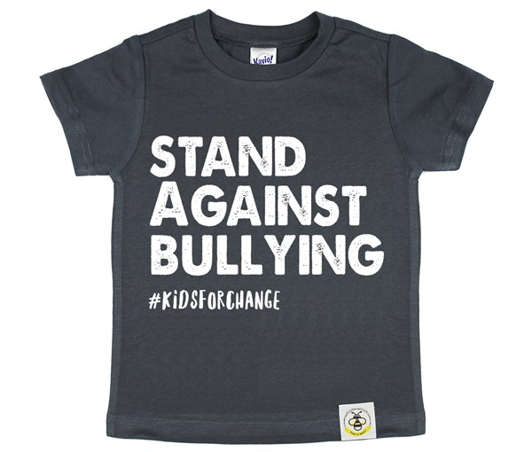 Stand Against Bullying (Charcoal)