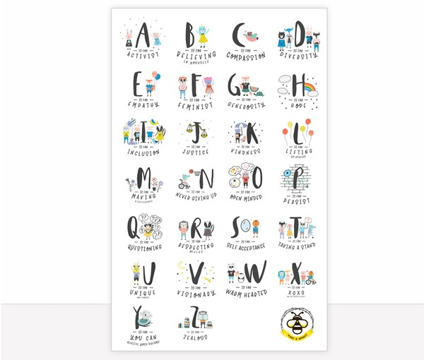 Alphabet Poster 24x36 (Digital Download)