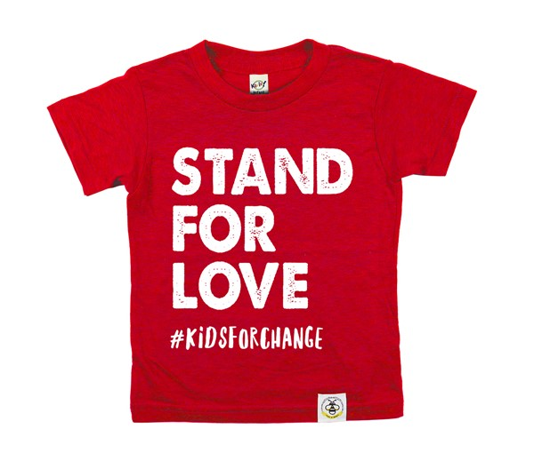 Stand for Love (Heather Red)