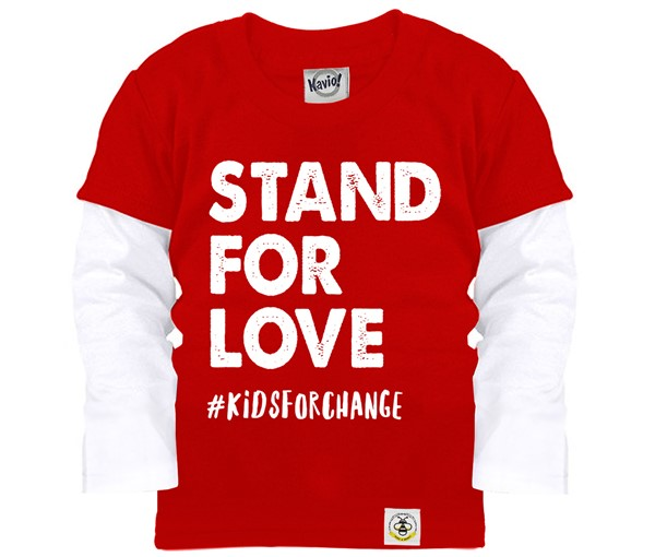 Stand For Love (Kids Layered Tee)