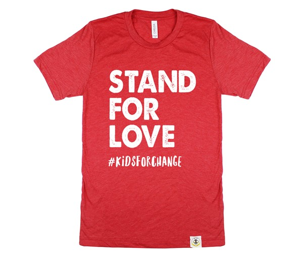 Stand For Love Unisex Adult (Red)