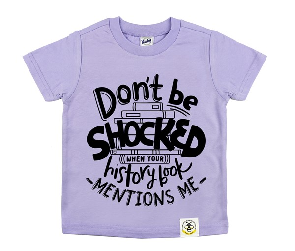 Don't Be Shocked (Lavender)