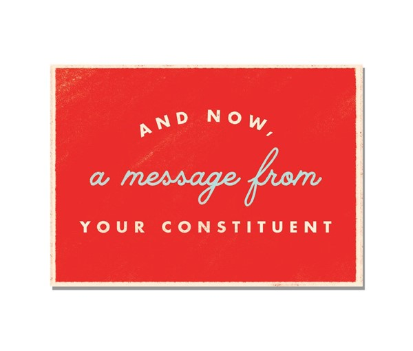 Political Action Postcards (Set of 5)