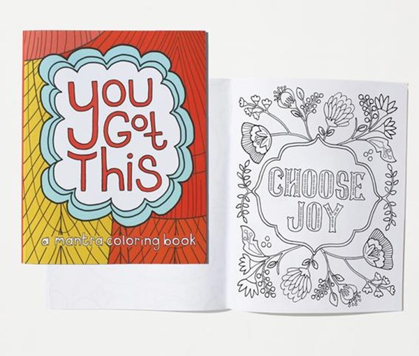 You Got This--A Mantra Coloring Book