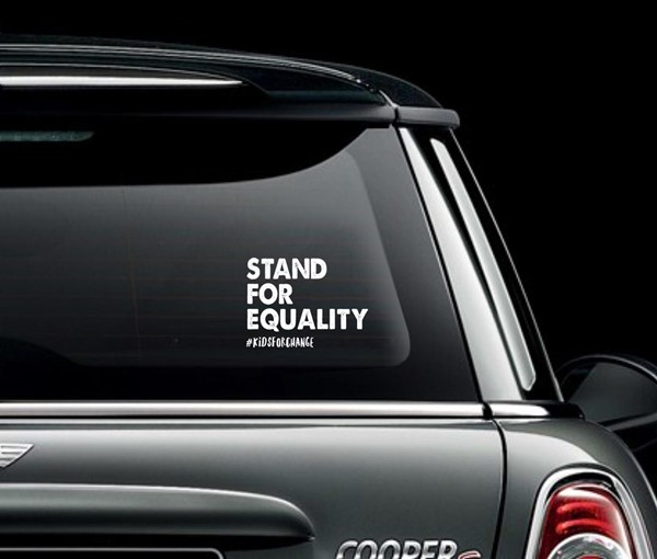 Stand For Equality Decal