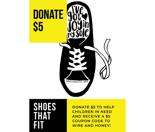 Shoes That Fit $5 Donation