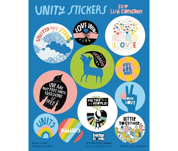 Unity Sticker Pack