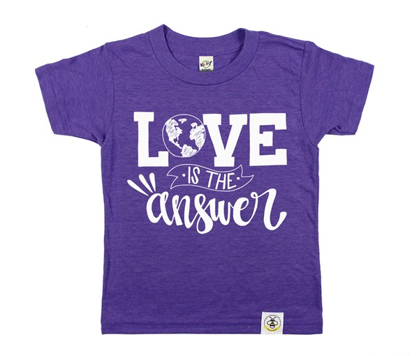 Love is the Answer (Purple)