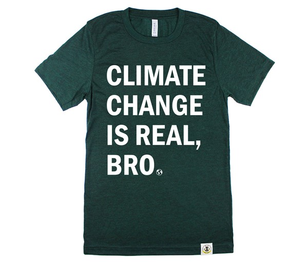 Climate Change Adult Crew Neck
