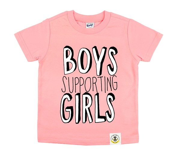Boys Supporting Girls (Kids Crew)