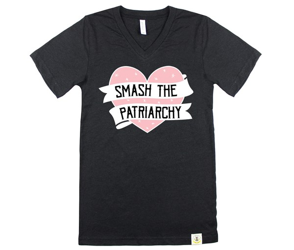 Smash the Patriarchy (Unisex, Black Heather)