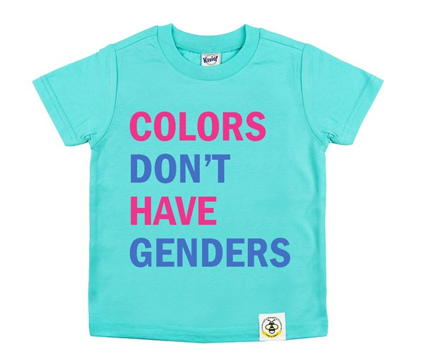 Colors Don't Have Genders (Caribbean Blue)
