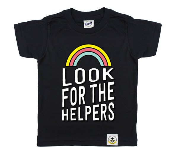 Look for the Helpers (Black)