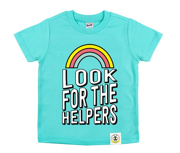 Look for the Helpers (Caribbean Blue)