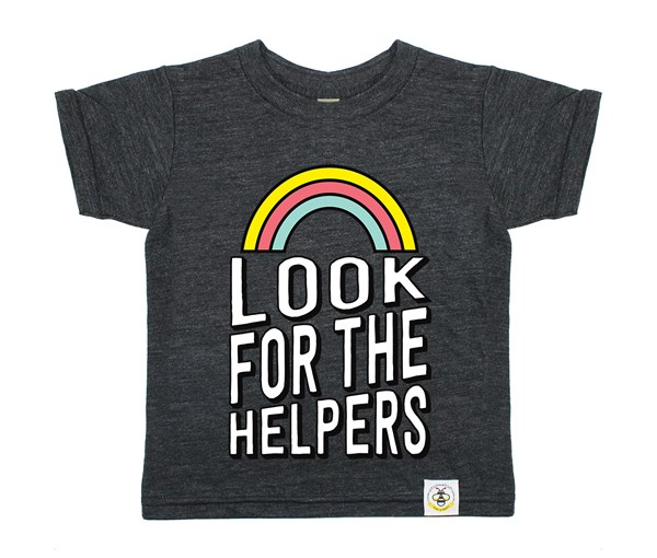 Look for the Helpers (Heather Charcoal)