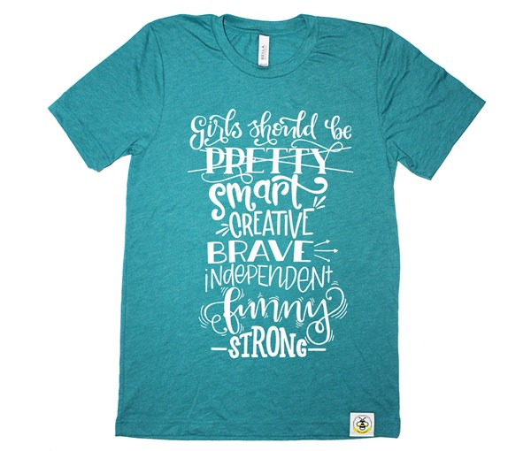 Girls Should Adult Unisex (Teal)
