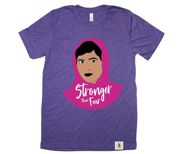 Stronger Than Fear Adult Unisex (Purple)