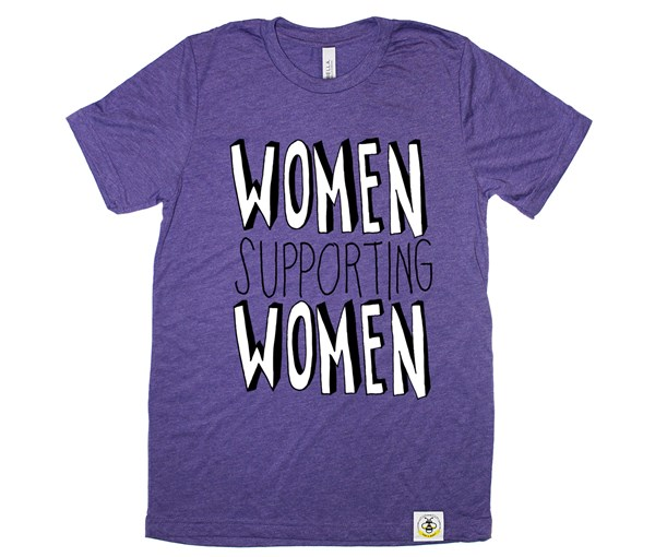 Women Supporting Women Adult Unisex (Purple)
